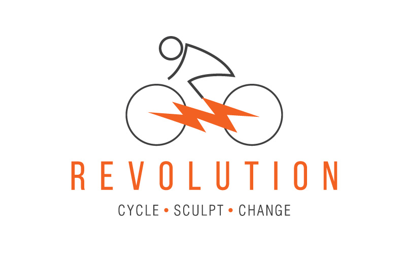 Logo, Stationery design for Revolution Cycle