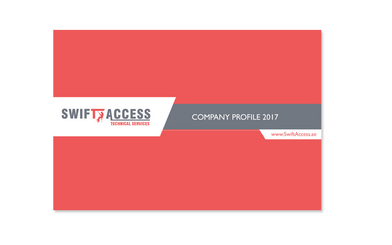 Brochure design for Swift Access